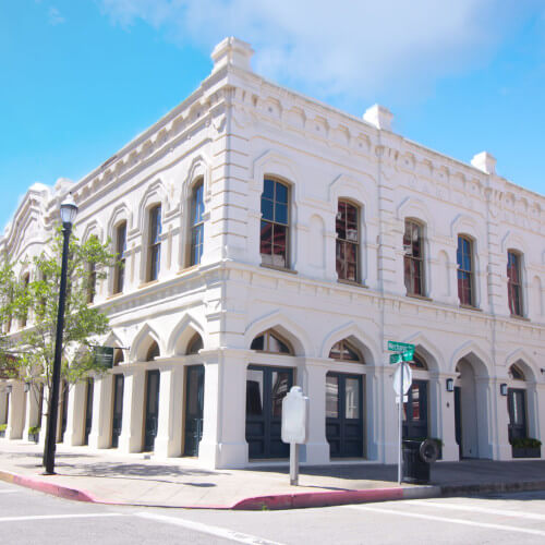 marine building galveston