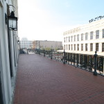 Old Galveston Square Balcony