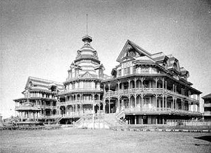 luxurious building on the beach historic galveston