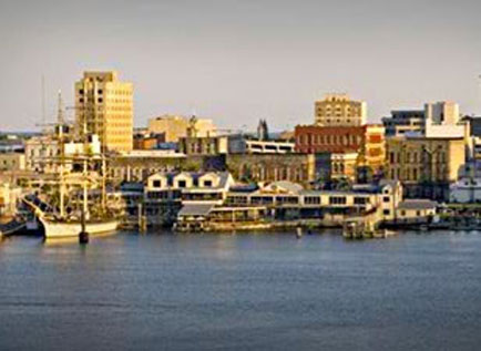 Galveston Waterfront history