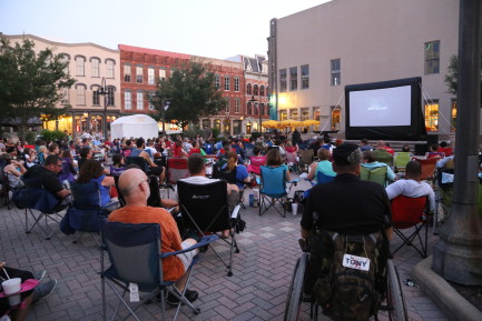 MOVIE NITE ON THE STRAND