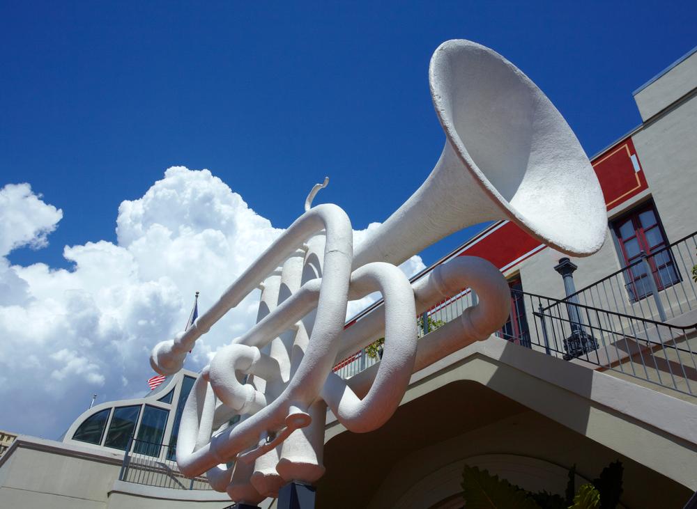 Galveston Trumpet Sculpture_Mitchell Historic properties